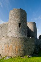 Harlech Castle, Corner tower