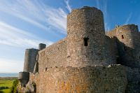 Harlech Castle, Corner tower 2