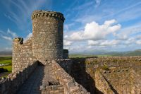 Harlech Castle, Battlement tower