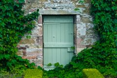 A quiet doorway in the garden wall