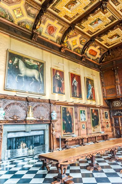 Hatfield House photo, The Marble Hall