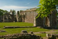 Haughmond Abbey, Cloisters