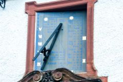Hawkshead Grammar School, Sundial over the door