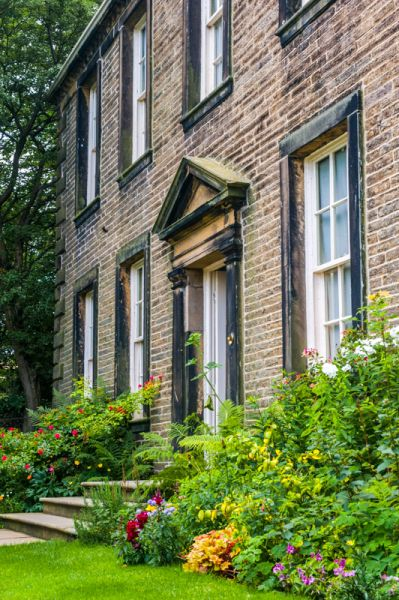 Bronte Parsonage Museum photo, The front entrance to the Parsonage