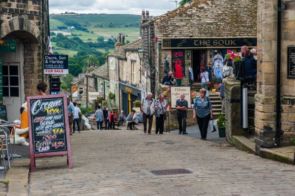 Haworth photo, Main Street
