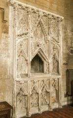 14th century Easter Sepulchre in St Andrew's church