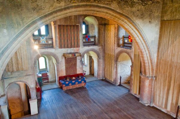 the banqueting hall from the gallery