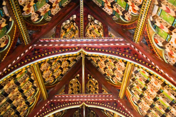 Helperthorpe, St Peter's Church photo, Nave ceiling 2