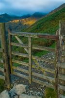 Gate on the path to Helvellyn