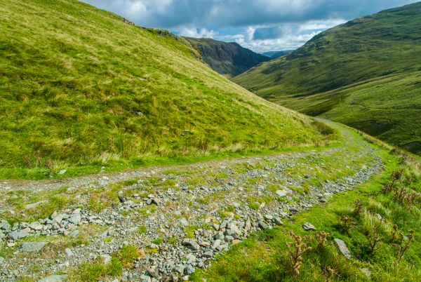 Glenridding photo, The mountain road near Greenside Mine