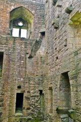 The castle interior
