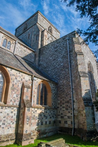 Heytesbury, St Peter & St Paul Church photo, The central tower