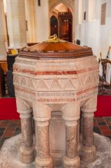 The Victorian font by Wm Butterfield