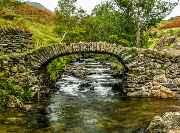 Ambleside photo, The packhorse bridge at High Sweden