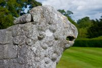 Hill of Tarvit House, Stone lion