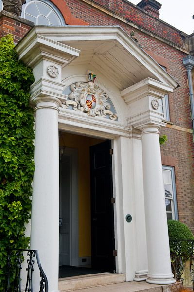 Hinton Ampner House & Garden photo, Front portico