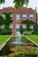 Hinton Ampner House & Garden, Lily pond 2