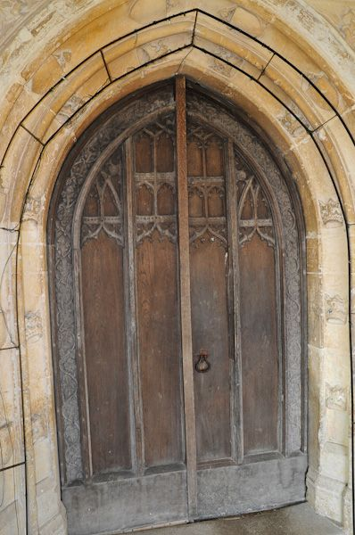 Hitcham, All Saints Church photo, South doorway