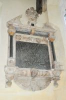 Hitcham, All Saints Church, George Waldegrave memorial
