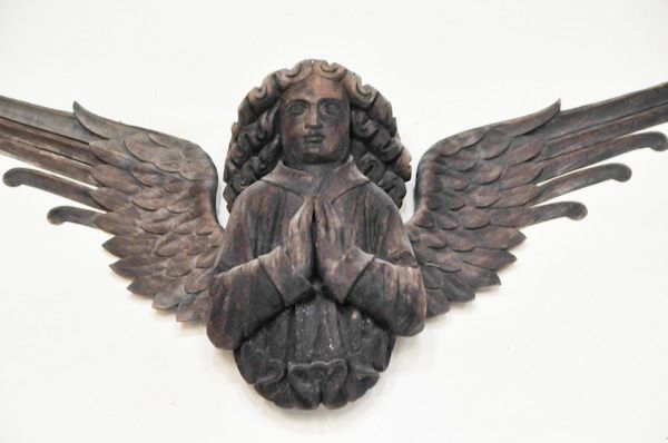 Hitcham, All Saints Church photo, Carved angel