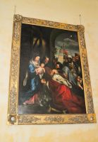 Hitcham, All Saints Church, Adoration of the Magi painting