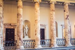 Marble Hall collonade