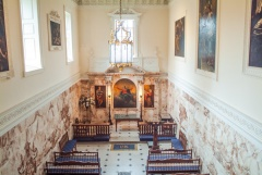 The chapel at Holkham Hall