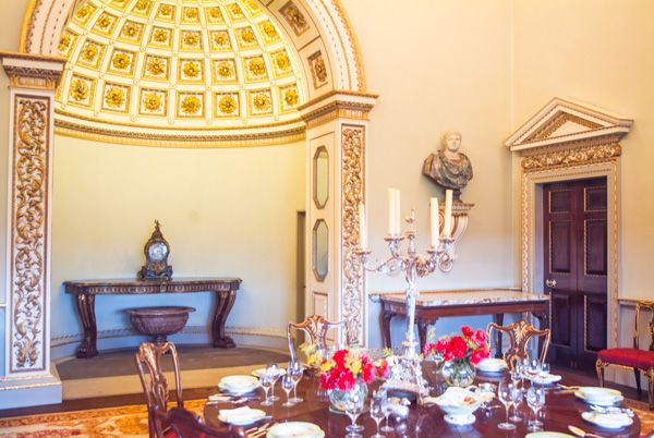 Holkham Hall photo, The Dining Room