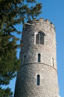 Norman round tower