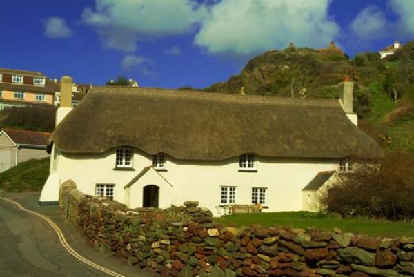 Hope Cove photo, Thatched cottages in Hope Cove