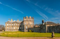 The rear of Hopetoun House, by Sir William Bruce