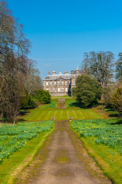 Hopetoun House photo, The house from the gardens