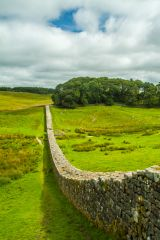 Following the line of Hadrian's Wall