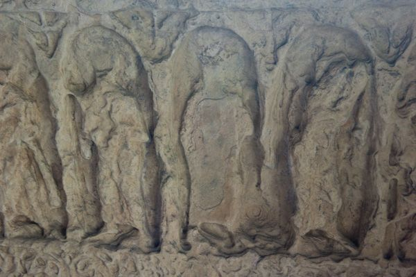 Hovingham, All Saints Church photo, Reredos carving