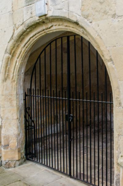 Howden Bishop's Manor photo, The medieval arched entrance