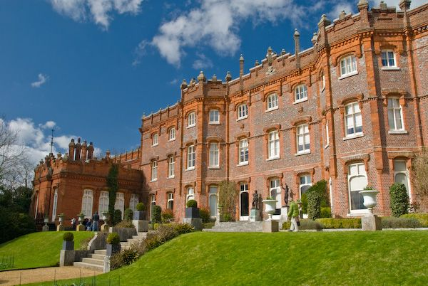 Hughenden Manor photo, South front of Hughenden