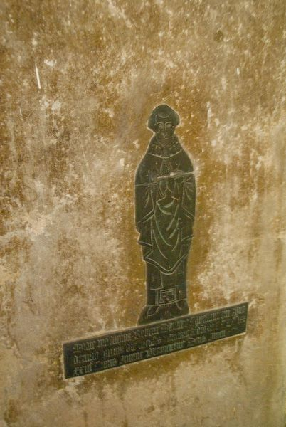 Hughenden, St Michael and All Angels photo, Medieval brass