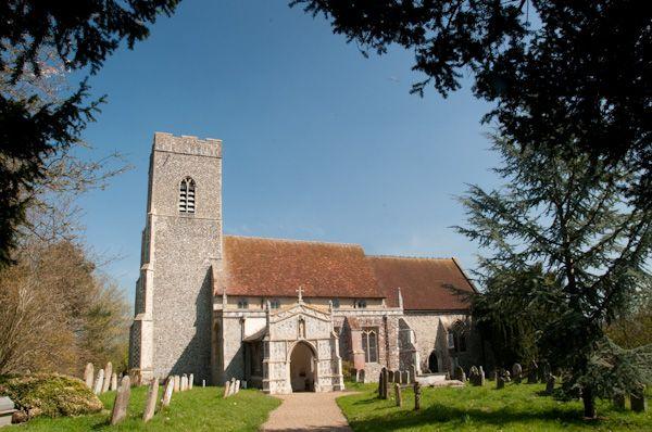 Huntingfield St Mary S Church History Travel And