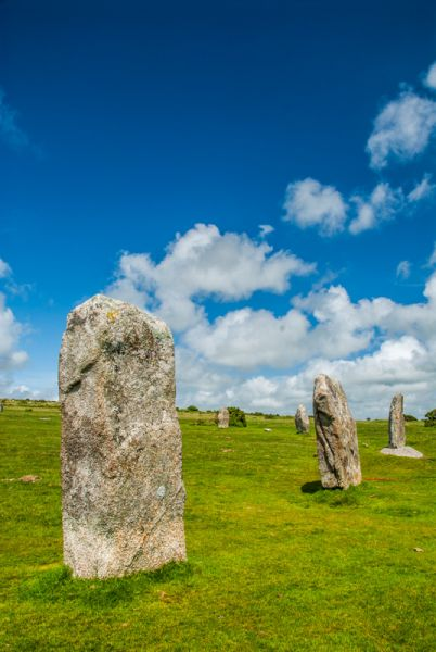The Hurlers Stone Circles photo, Exterior of a stone circle