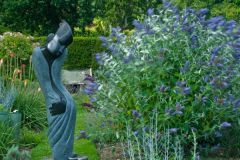 Herstmonceux Castle, Sculpture in the gardens