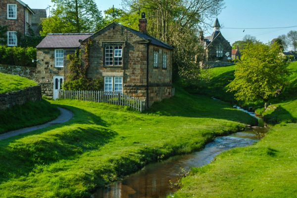 Hutton le Hole photo, A cottage by Hutton Beck