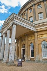Ickworth, The entrance portico