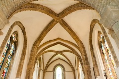 13th century chancel vaulting