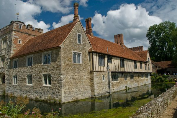 Ightham Mote photo, South west view