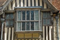 Ightham Mote, Courtyard window