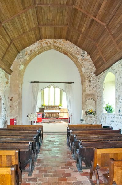 Iken, St Botolph's Church photo, Nave view