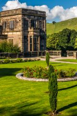 The Italianate Garden at Ilam Hall