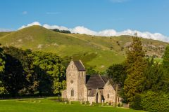 Holy Cross from Ilam Hall