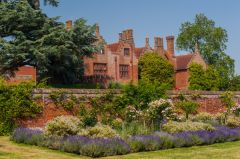 Ingatestone Hall, View from the walled garden