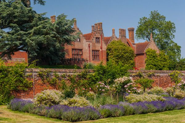 Ingatestone Hall photo, View from the walled garden
